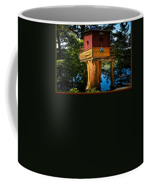 House Coffee Mug featuring the photograph Tree House by Sherman Perry