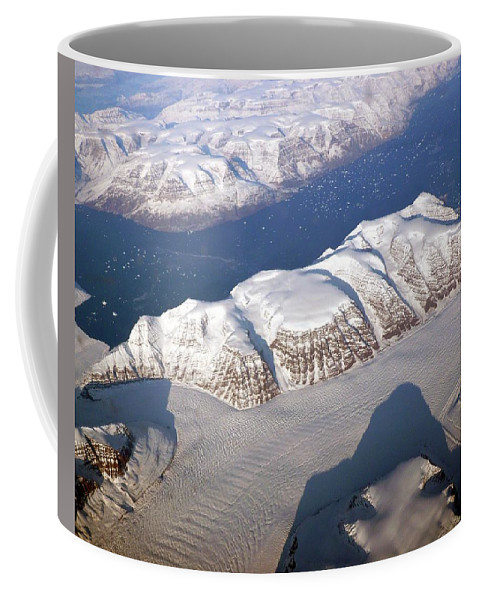 Aerial Coffee Mug featuring the photograph Unnamed by Nicki Bennett
