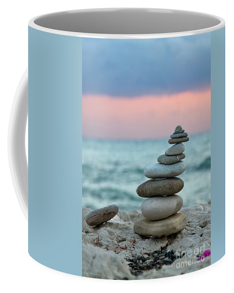 Abstract Coffee Mug featuring the photograph Zen by Stelios Kleanthous