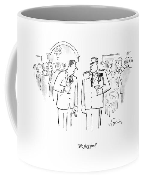 No Flag Pin! Coffee Mug