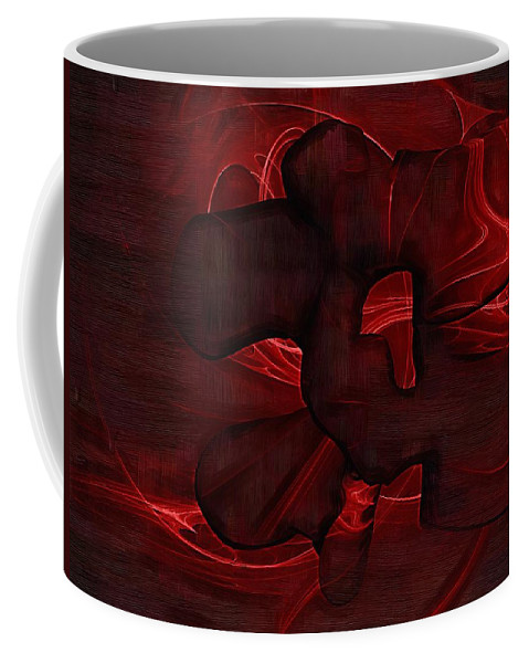 Chiropractor Coffee Mug featuring the digital art Lumbar Spine by Joseph Ventura