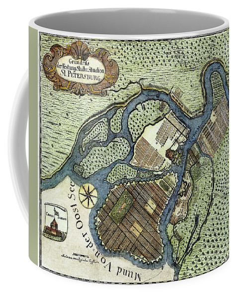 1738 Coffee Mug featuring the painting St by Granger
