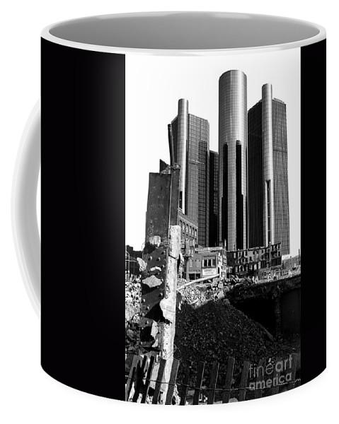 Detroit Coffee Mug featuring the photograph 35 Years Ago by Steven Dunn