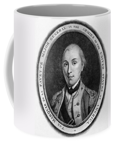 18th Century Coffee Mug featuring the photograph Marquis De Lafayette by Granger
