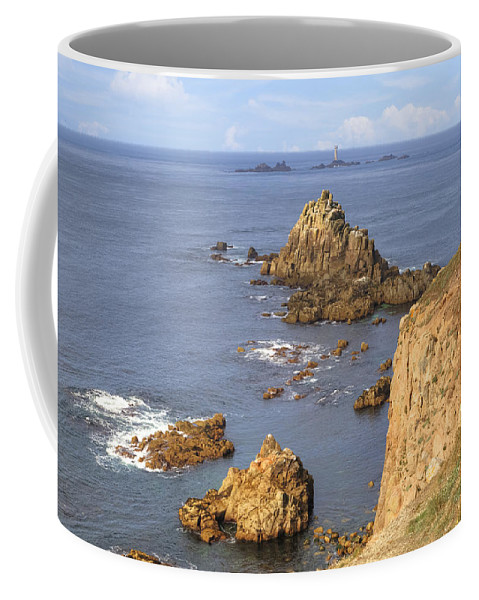 Land's End Coffee Mug featuring the photograph Cornwall - Land's End by Joana Kruse