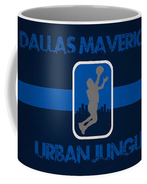 Mavericks Coffee Mug featuring the photograph Dallas Mavericks by Joe Hamilton
