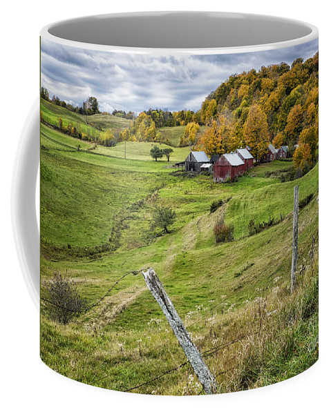 Jenne Farm Coffee Mug featuring the photograph Down In The Valley by Claudia Kuhn