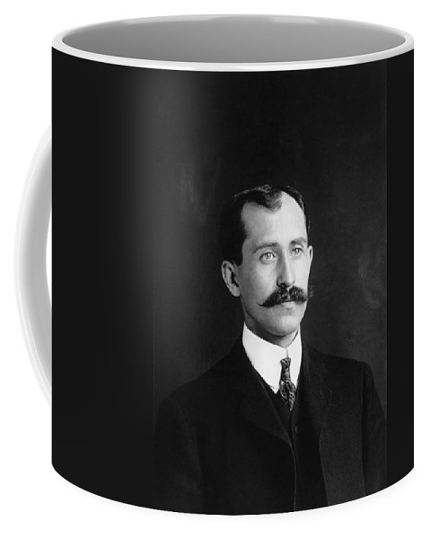 1905 Coffee Mug featuring the photograph Orville Wright (1871-1948) by Granger
