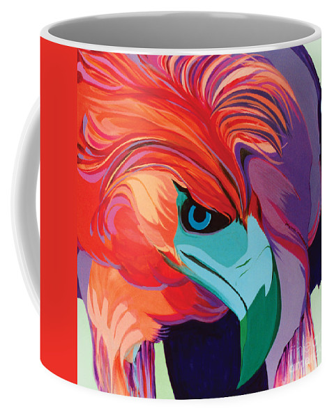 Sets Coffee Mug featuring the painting 4 Perplex 1 by Marlene Burns