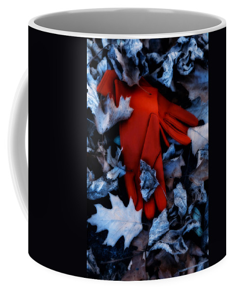 Glove Coffee Mug featuring the photograph Red Gloves by Joana Kruse