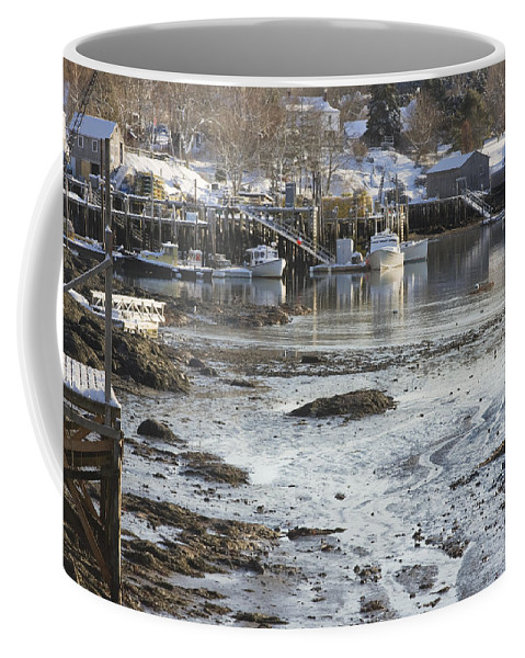 Maine Coffee Mug featuring the photograph South Bristol On The Coast Of Maine by Keith Webber Jr