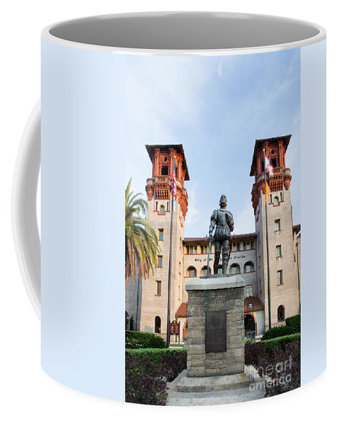 The Lightner Museum Coffee Mug featuring the photograph The Lightner Museum Formerly The Hotel Alcazar St. Augustine Florida by Dawna Moore Photography