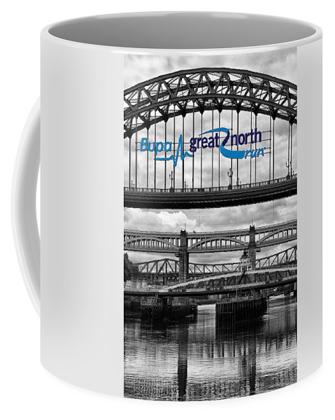 Tyne Bridge Coffee Mug featuring the photograph Tyne Bridge by David Pringle