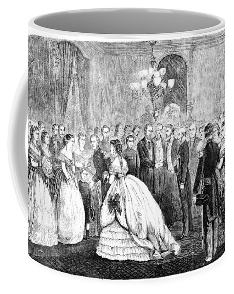 1866 Coffee Mug featuring the painting Ulysses S by Granger