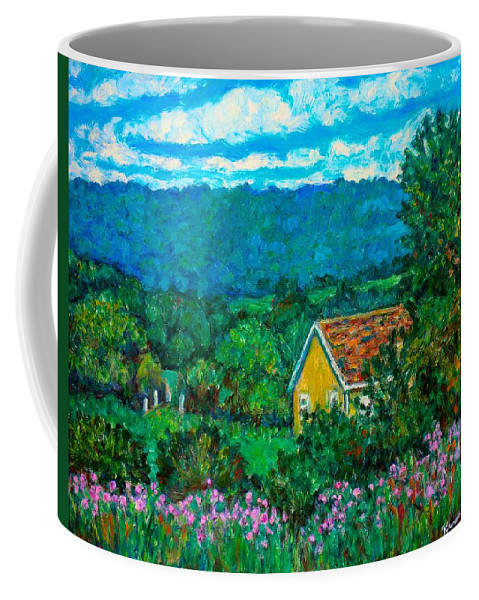 Landscape Coffee Mug featuring the painting 460 by Kendall Kessler