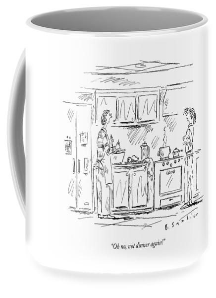 Oh No, Not Dinner Again! Coffee Mug