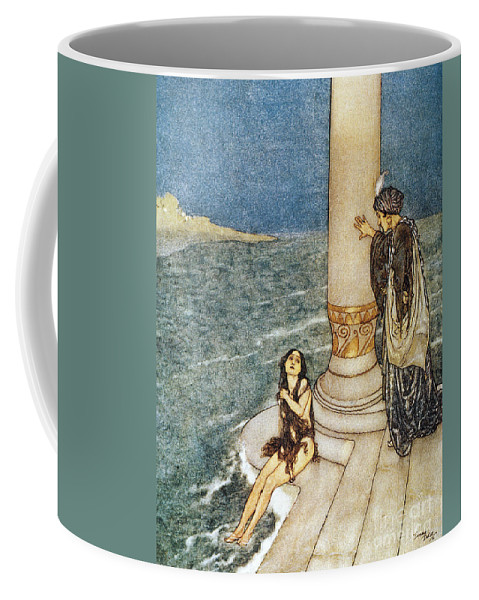1911 Coffee Mug featuring the photograph Andersen: Little Mermaid by Granger