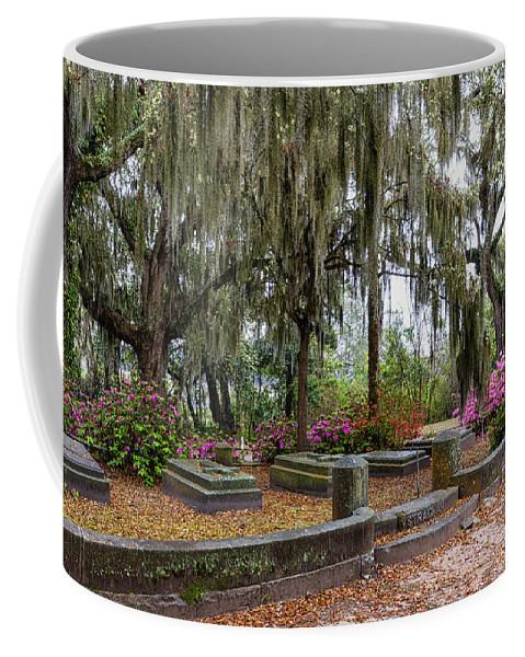 Angel Coffee Mug featuring the photograph Bonaventure Cemetery Savannah Georgia by Dawna Moore Photography