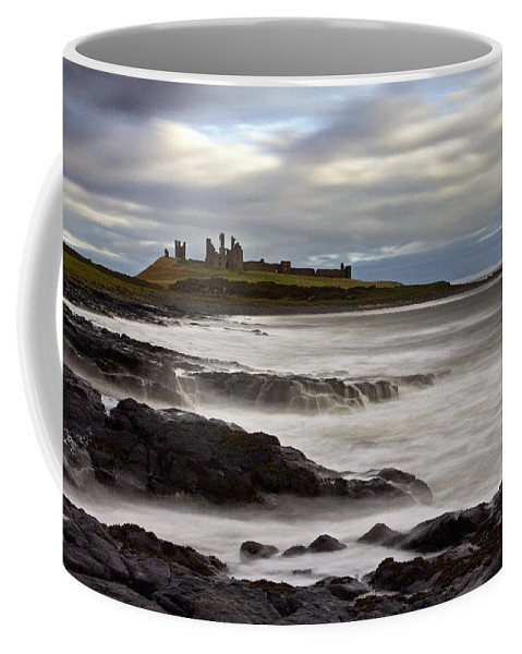 Dunstanburgh Castle Coffee Mug featuring the photograph Dunstanburgh Castle by David Pringle