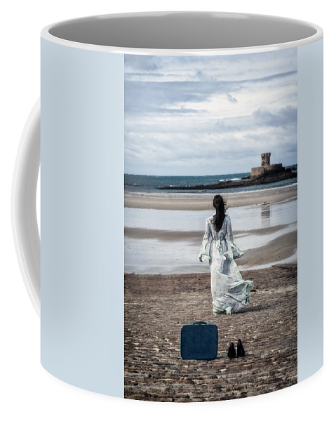 Woman Coffee Mug featuring the photograph Farewell by Joana Kruse