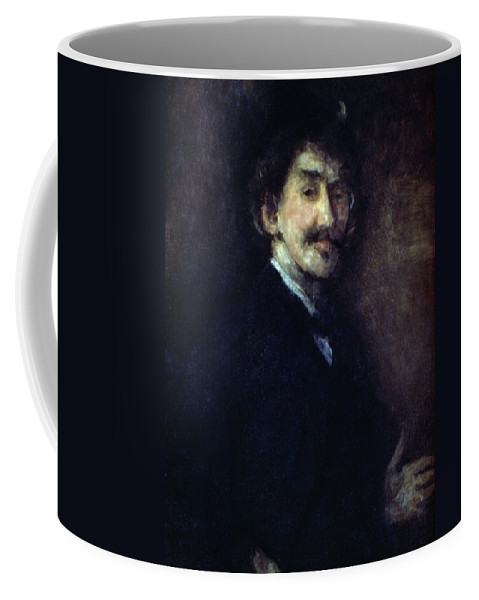 1890 Coffee Mug featuring the painting James by Granger