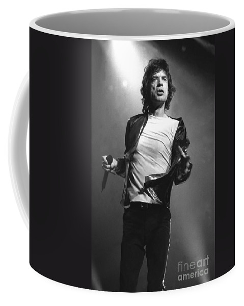 Singer Coffee Mug featuring the photograph Rolling Stones by Concert Photos