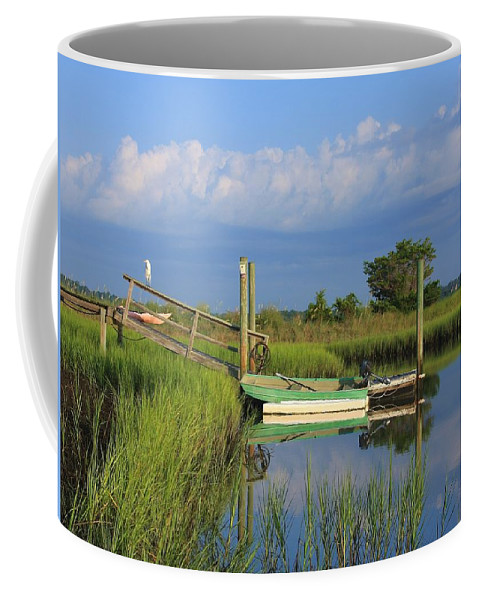 Wrightsville Beach Coffee Mug featuring the photograph Wrightsville Beach Marsh by Mountains to the Sea Photo