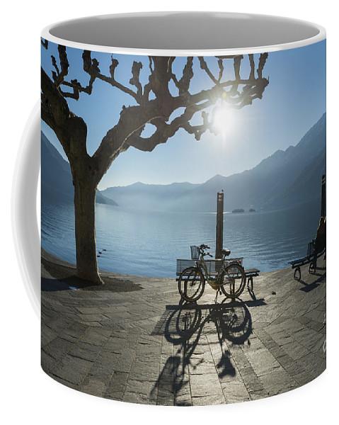 Backlit Coffee Mug featuring the photograph Alpine Lake by Mats Silvan