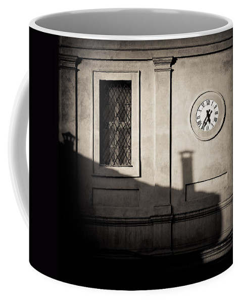 Siena Coffee Mug featuring the photograph 5.35pm by Dave Bowman