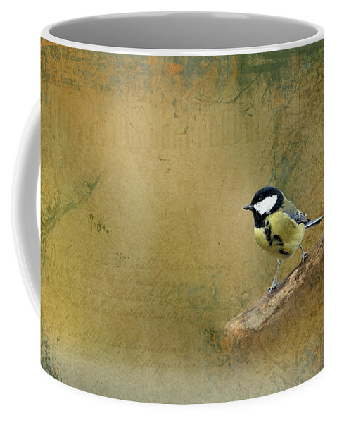 Decoration Coffee Mug featuring the photograph Bird by Heike Hultsch