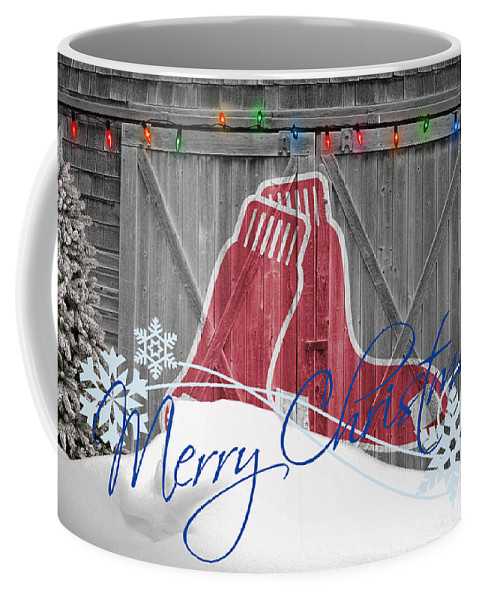 Red Sox Coffee Mug featuring the photograph Boston Red Sox by Joe Hamilton