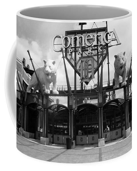 America Coffee Mug featuring the photograph Comerica Park - Detroit Tigers by Frank Romeo