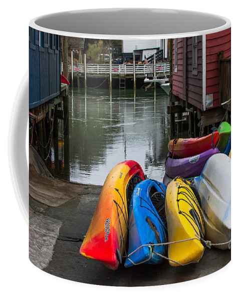 Kayak Coffee Mug featuring the photograph Water Adventure Awaits by Dale Powell
