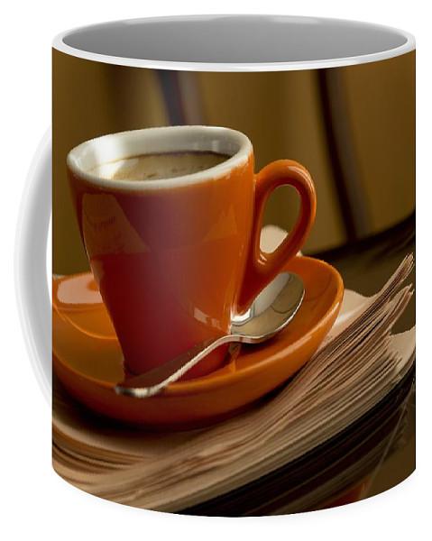 Coffee Coffee Mug featuring the photograph Espresso by Chevy Fleet