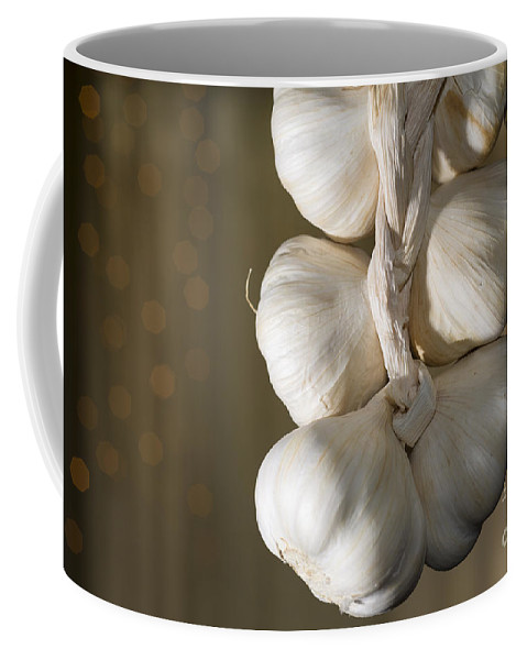 Garlic Coffee Mug featuring the photograph Garlic by Mats Silvan