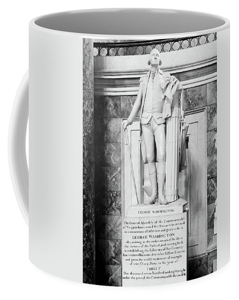 1900s Decade Coffee Mug featuring the photograph George Washington (1732-1799) by Granger