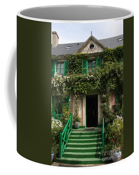 Monet Coffee Mug featuring the photograph Monets Garden - Giverney - France by Christiane Schulze Art And Photography