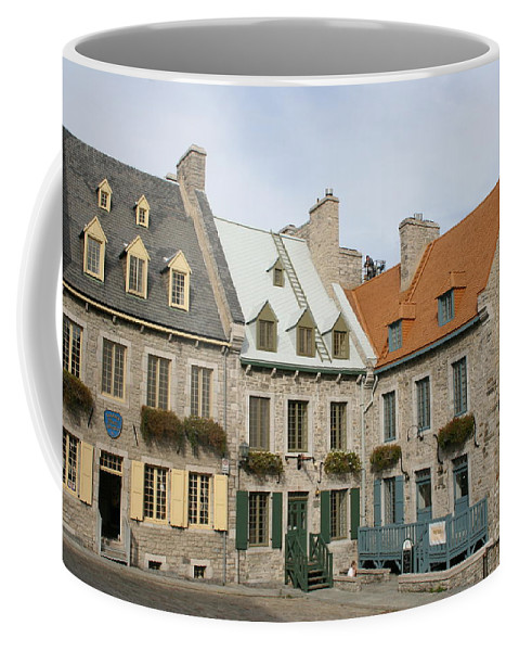 Old Town Coffee Mug featuring the photograph Old Town Quebec - Canada by Christiane Schulze Art And Photography