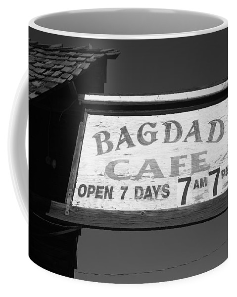 66 Coffee Mug featuring the photograph Route 66 - Bagdad Cafe by Frank Romeo