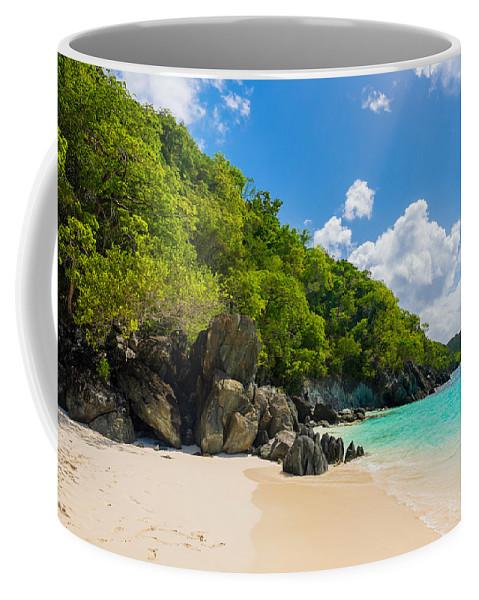 Caribbean Coffee Mug featuring the photograph Beautiful Caribbean Beach by Raul Rodriguez