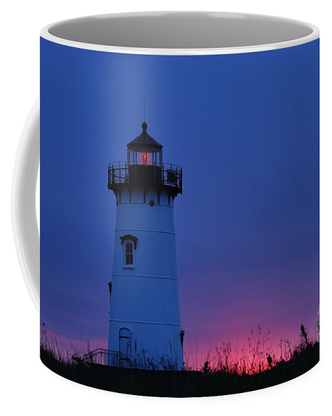 Edgartown Lighthouse Coffee Mug featuring the photograph Edgartown Lighthouse by John Greim