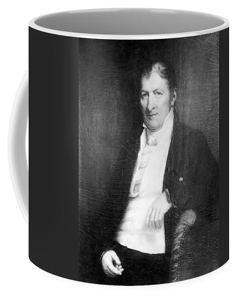 18th Century Coffee Mug featuring the painting Eli Whitney (1765-1825) by Granger