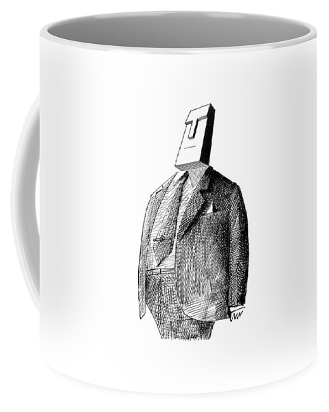 115913 Sst Saul Steinberg (couples And Individuals With Unusually Shaped Faces.) 2-page Appearances Appears Business Character Class Clothes Clothing Coat Couples Depicts Example Face Faces Fur Furs Geometry High Humanity Individuals Low Man Mind Occupation People Personality Profession Professional Psychological Psychology Rock Shape Shaped Shapes Similar Slab Social Society Spread Their Tycoon Type Types Unusually Coffee Mug featuring the drawing New Yorker May 5th, 1962 by Saul Steinberg