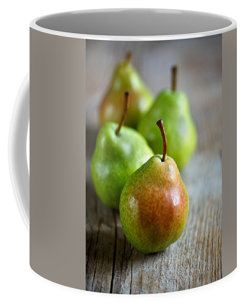 Pear Coffee Mug featuring the photograph Pears by Nailia Schwarz