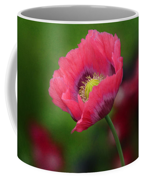 Poppy Coffee Mug featuring the photograph Poppy by Heike Hultsch