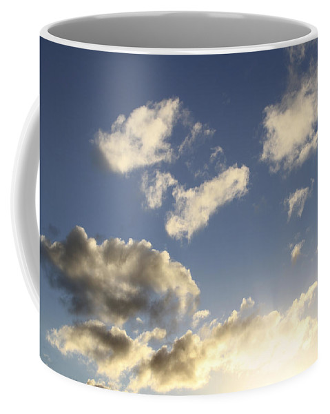 Sun Coffee Mug featuring the photograph Sky by Les Cunliffe