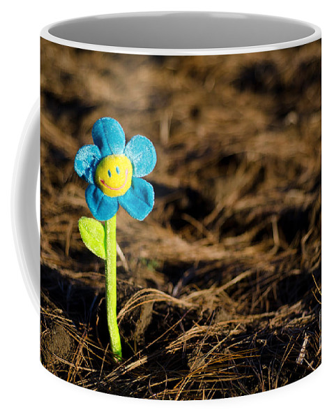 Smile Flower Coffee Mug featuring the photograph Smile Flower by Mats Silvan