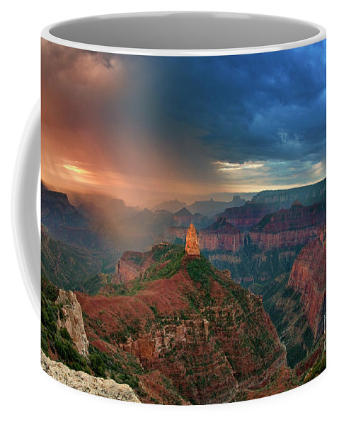 North America Coffee Mug featuring the photograph 749220321 North Rim Grand Canyon Arizona by Dave Welling