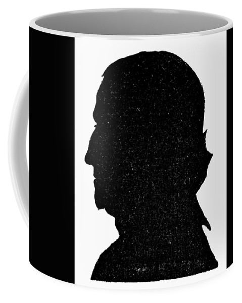 18th Century Coffee Mug featuring the painting Benjamin Franklin (1706-1790) by Granger