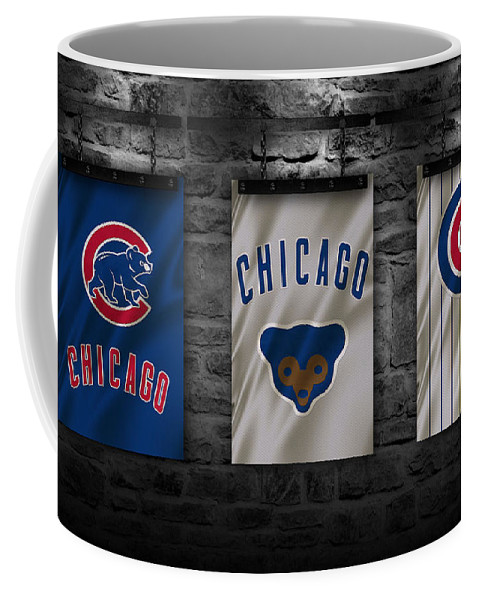 Cubs Coffee Mug featuring the photograph Chicago Cubs by Joe Hamilton
